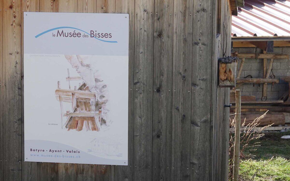Visite du Musée des bisses d'Ayent/Botyre